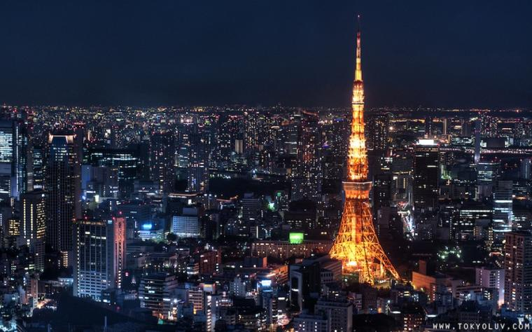 tokyo skyline Travel Guide to Tokyo