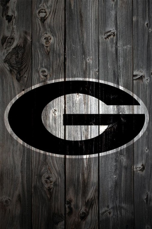 uga football wallpaper Georgia Bulldogs Wood iPhone 4 Background   a