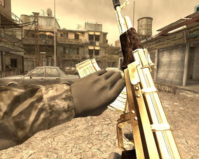 Ak47 Wallpaper Gold Ak47 cod4