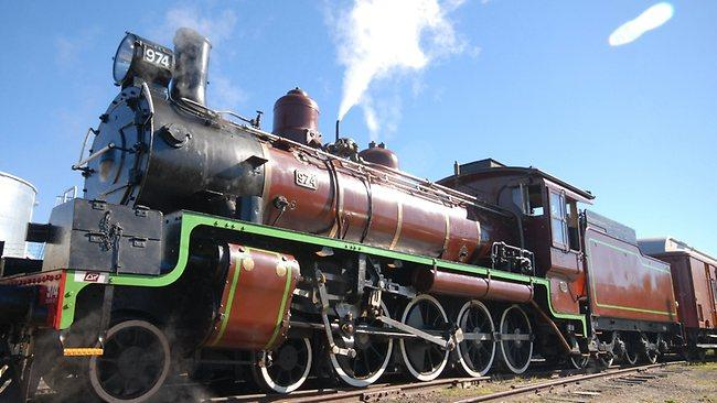 Steam Train Tattoo Pictures to Pin