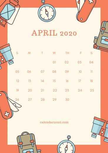 2020 Calendar iPhone Wallpapers Calendar 2020