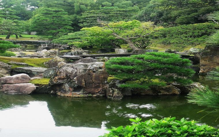 Japanese Garden Art Prints Art Wall and Posters Wall Murals Buy a