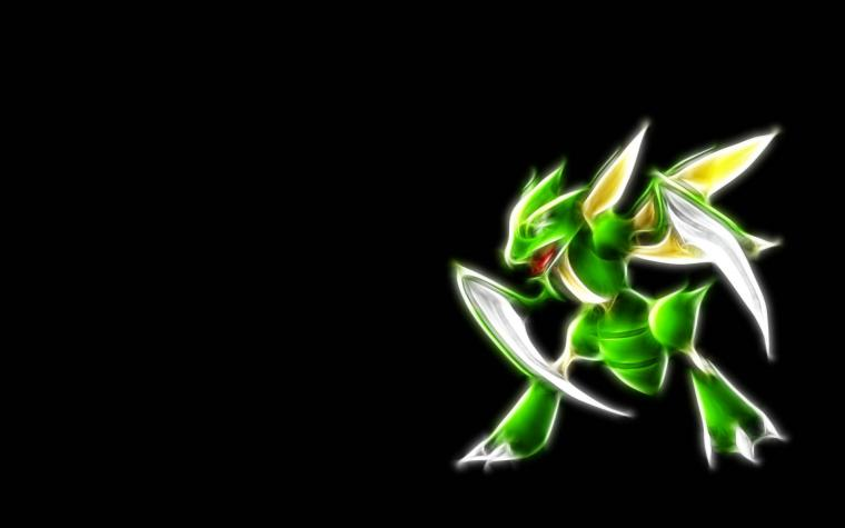 Scyther Neon Wallpaper Cool wallpaper with Scyther