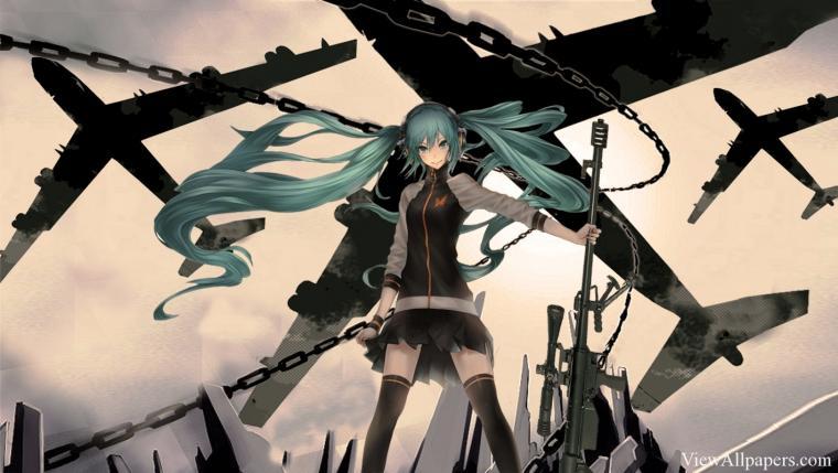 Anime Sniper Girl Wallpaper Anime HD Wallpapers