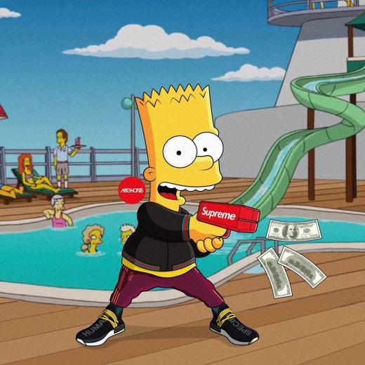 Dope Bart Simpson Supreme Wallpapers   Top Dope Bart Simpson