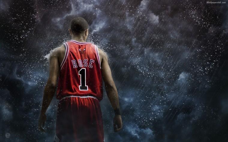 Derrick Rose Chicago Bulls 01 HD Wallpaper Chicago Wallpapers HD