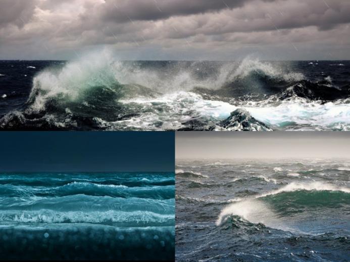 Ocean Waves Animated Wallpaper   DesktopAnimatedcom