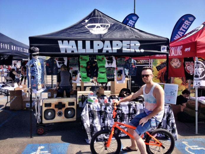 on Tour with Wallpaper the Vans Warped Tour   Come by the Wallpaper