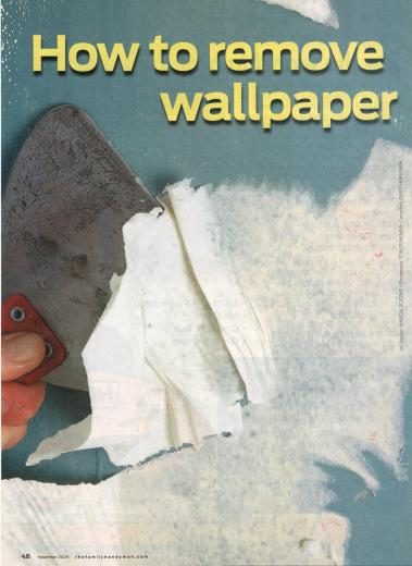 Way to Remove Wallpaper Ways to Remove Wallpaper Remove Wallpaper