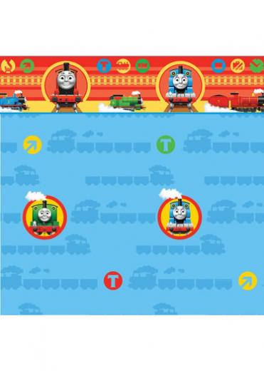 Childrens Rooms Thomas the Tank Engine Thomas Wallpaper Border