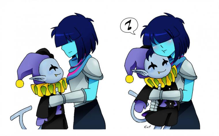 Hug dat Jevil by aimturein