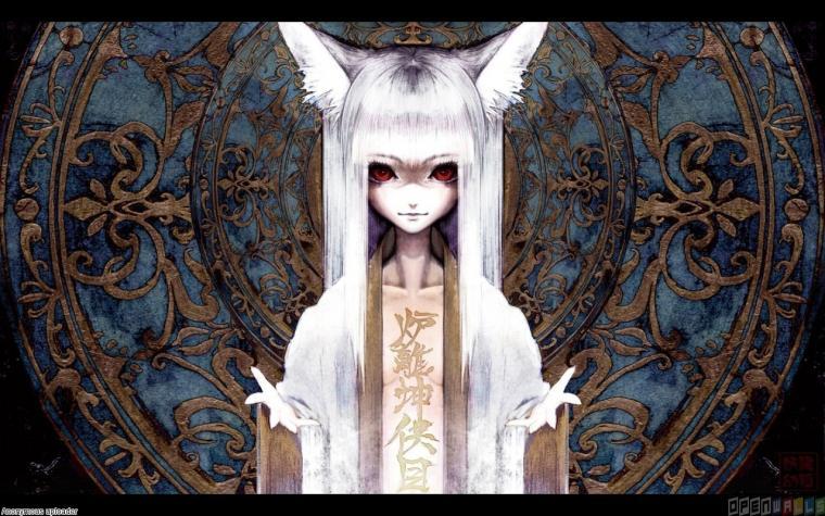 Anime cat girl wallpaper 2318   Open Walls