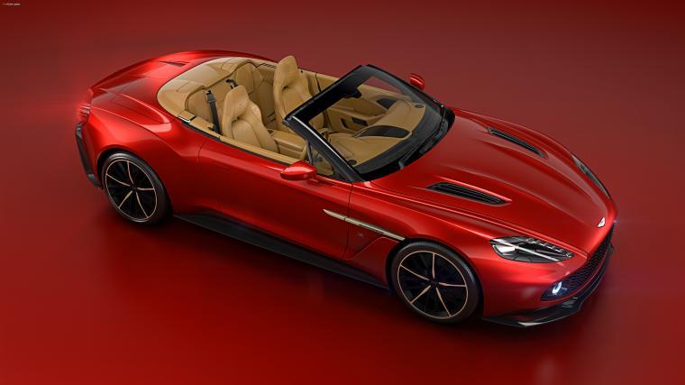 Aston Martin Vanquish Zagato Volante 2016 wallpapers