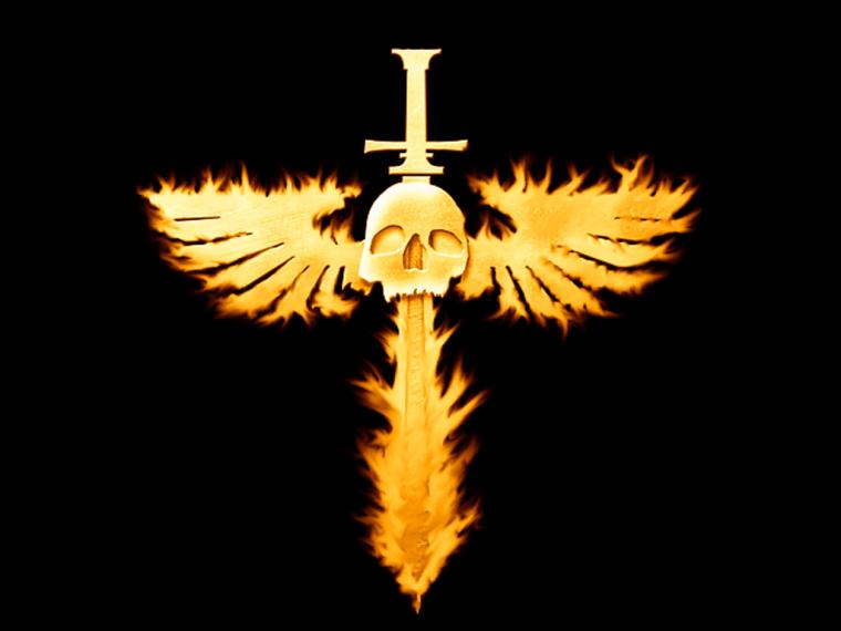 flaming winged skull wallpaper 1027png Photo by darknessking101