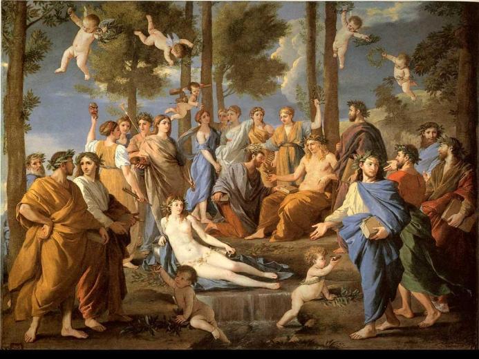 Apollo and Muses   Greek Mythology Wallpaper 11941221