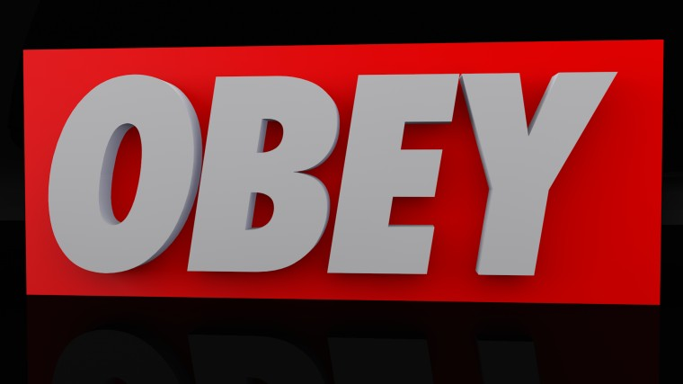Obey Wallpaper by InstantClassic91