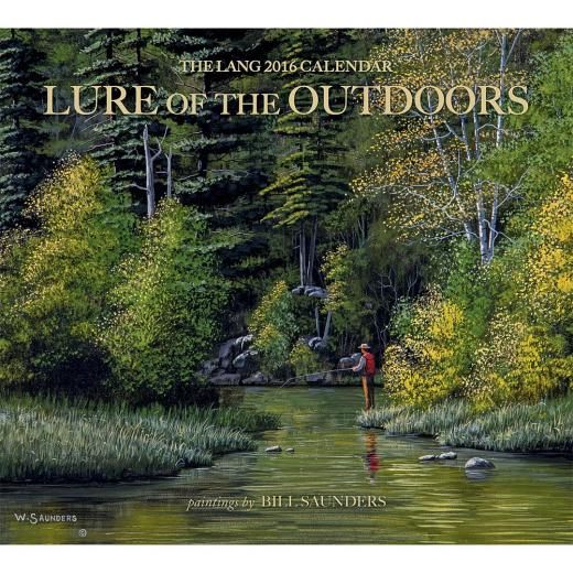 Lure of the Outdoors 2016 Wall Calendar 9780741251268 Calendars