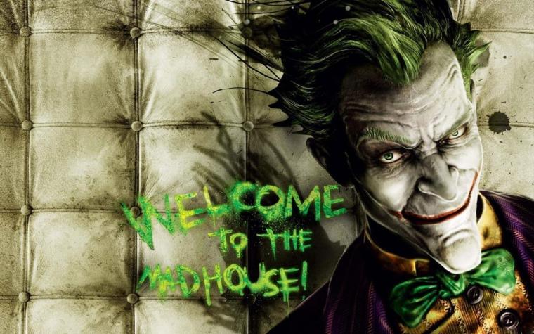 Video games the joker batman arkham asylum wallpaper 1920x1200