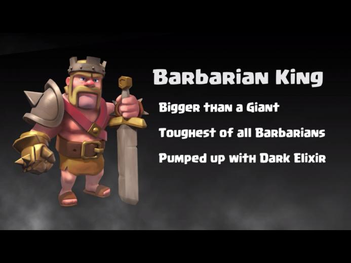 Clash Of Clans Barbarian King Wallpaper Barbarian king