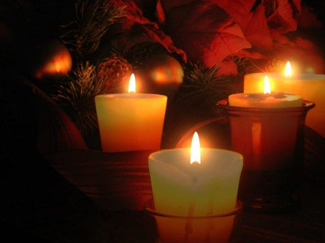 Holiday Wallpapers Christmas Candle Wallpapers