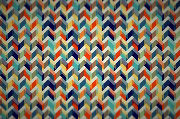 gilmorish zigzag cloud wallpaper patterns