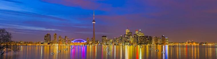 Probably the most impressive skyline in Canada is the Toronto skyline