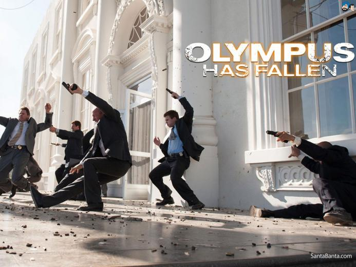 Olympus Has Fallen Movie Wallpaper 1