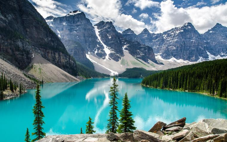 Moraine Lake Banff National Park Wallpapers HD Wallpapers