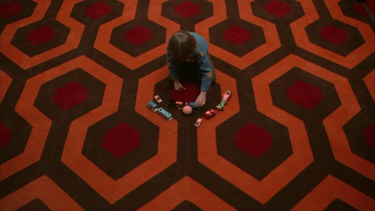 Checkmate The story behind Kubricks carpet in The Shining