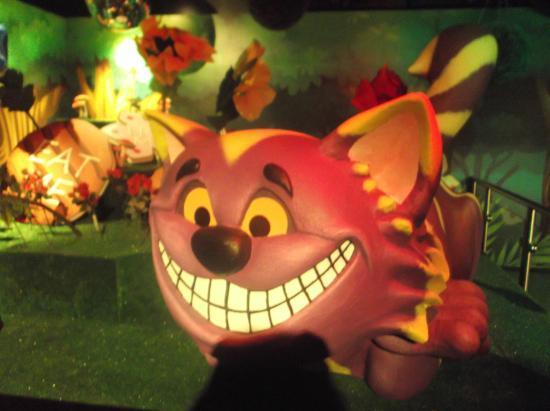 Ripleys Believe It or Not Alice in Wonderland room