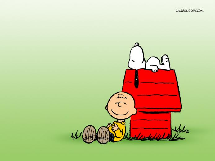 02 Peanuts Charlie Brown And Snoopy 02 1024