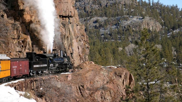 steam locomotive in the mountains wallpapers and images   wallpapers