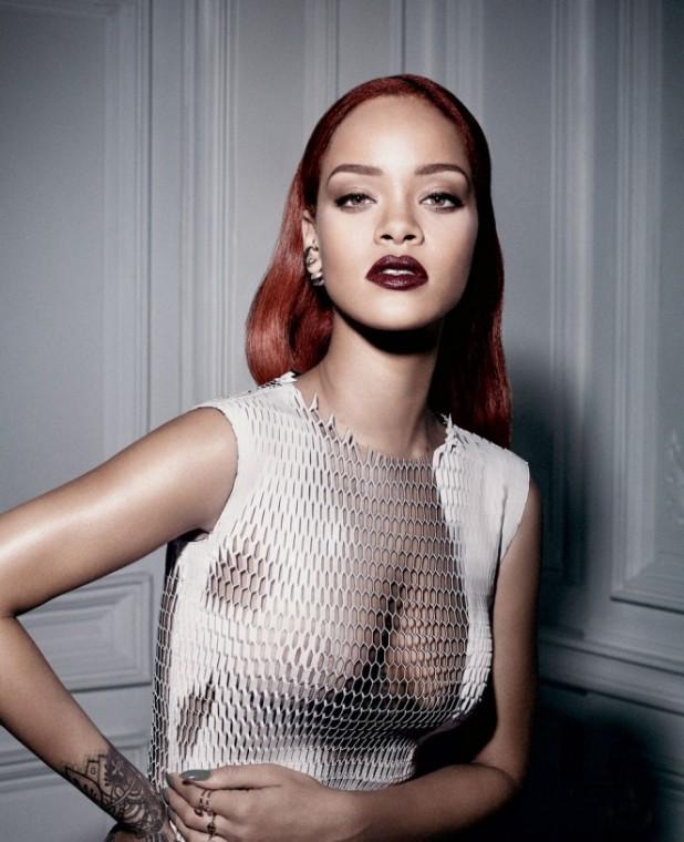 Rihanna Dior Magazine Photoshoot Celebrity News Photoshoots HQ