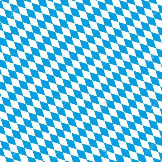 Oktoberfest Background Bavarian National Colors Eps 10 Vector