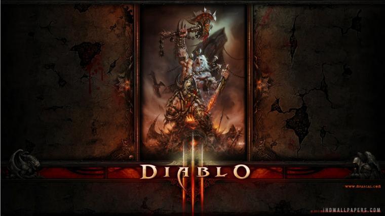 Diablo 3 Barbarian HD Wallpaper   iHD Wallpapers