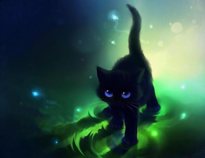 73 Anime Cat Wallpapers on WallpaperPlay