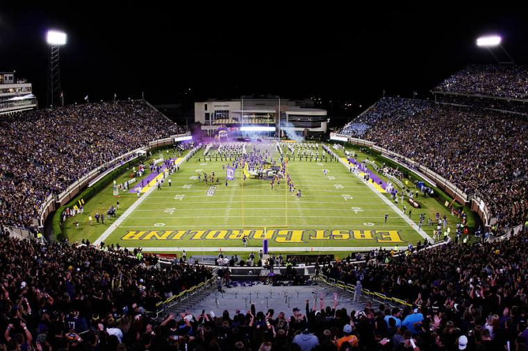 Ecu Photograph   Ecu Dowdy ficklen Stadium by Rob Goldberg