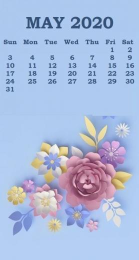 May 2020 iPhone Calendar Wallpaper Calendar wallpaper Iphone