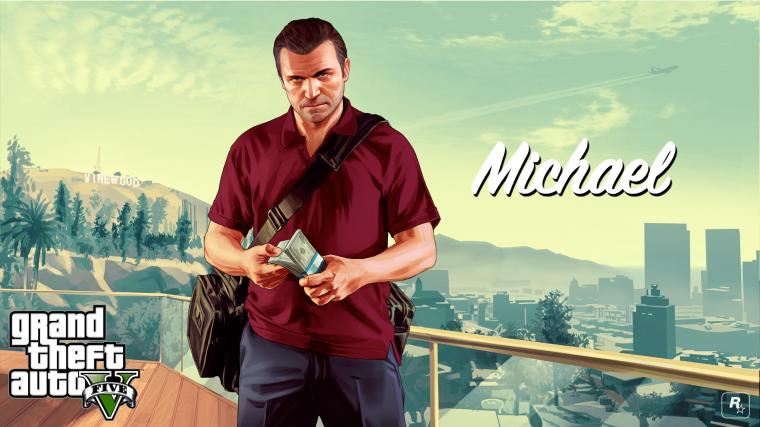 Gta 5 Wallpaper hd 1080p Gta 5 Michael Wallpaper hd