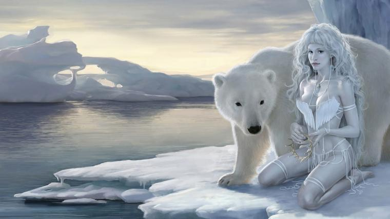 Polar Queen Ice beauty HD Wallpaper 1080p Hd Wallpaper