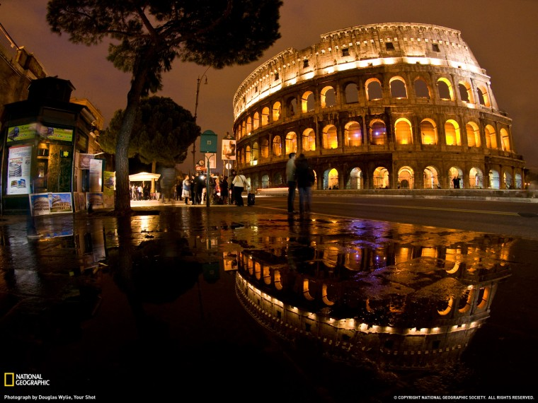Colosseum Photo Italy Wallpaper   National Geographic Photo of the