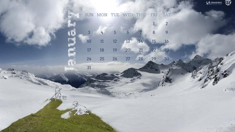 January 2016 Calendar Desktop Wallpaper 2016 Happy Holidays Day 2016