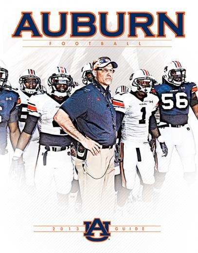 AUBURNTIGERSCOM Sneak Peek Auburns 2013 Football Guide Auburn