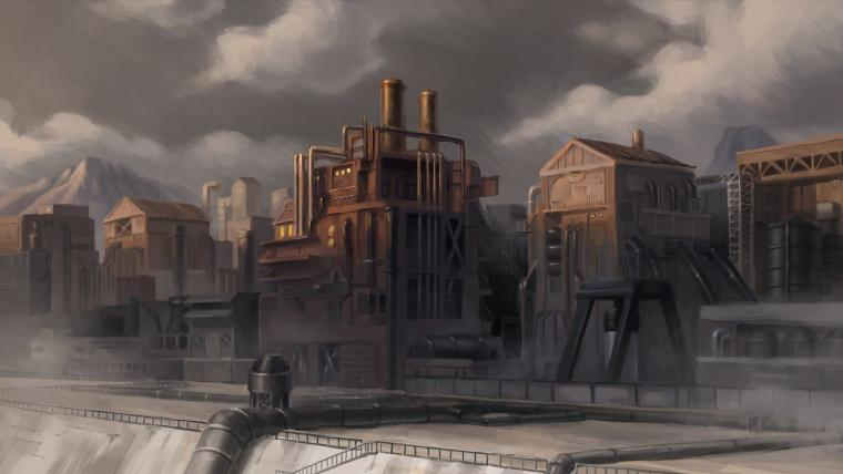 The Legend of Korra Background Paintings the art of legend of