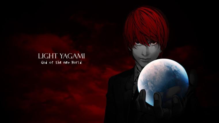 Light Yagami God of the new World Wallpaper by sasukekun17 on