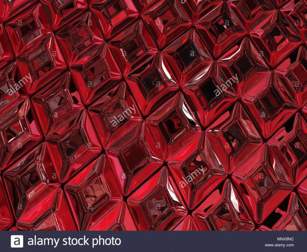 Ruby jewel surface luxury 3d illustration horizontal texture