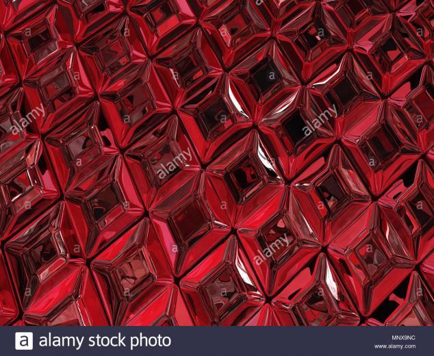 Ruby jewel surface luxury 3d illustration horizontal texture
