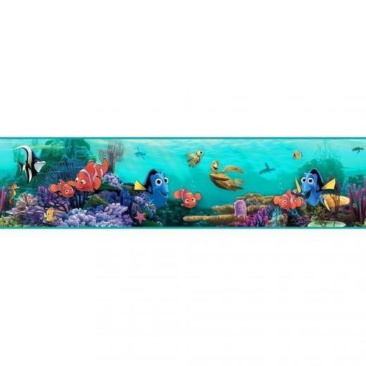 in the Aqua Sea Wallpaper Border DS7686BD   All 4 Walls Wallpaper