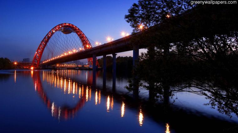 Moscow Bridge Hd Widescreen 20481152