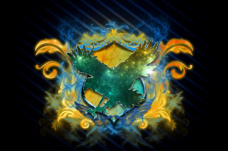 Ravenclaw Corvinal Stylized Coat of Arms by DixB2 on
